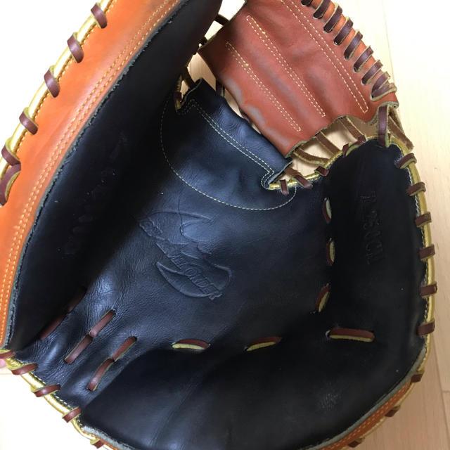Zeems(ジームス)のジームス軟式 キャッチャーミット スポーツ/アウトドアの野球(グローブ)の商品写真