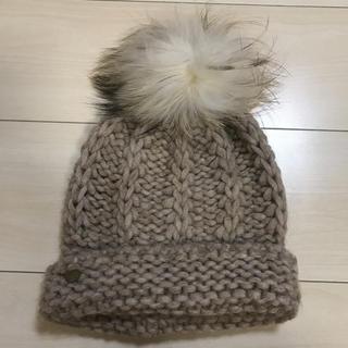 ローズバッド(ROSE BUD)のROSE BUD  ニット帽(ニット帽/ビーニー)