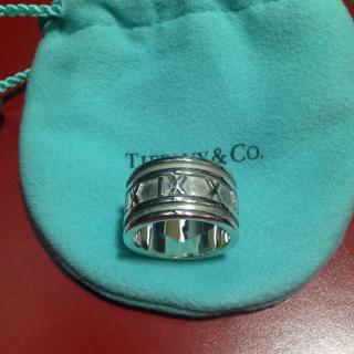 ティファニー(Tiffany & Co.)の断捨離 格安にて♫ ティファニー アトラス リング 18号(リング(指輪))