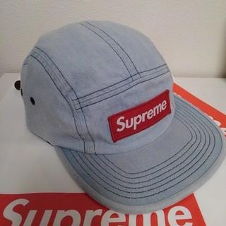 c394963e5f4 シュプリーム(Supreme)のレザーベルト シュプリーム キャンプ キャップ Box Logo 帽子 Hat (キャップ