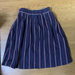 ダブルネーム(DOUBLE NAME)のスカート 両面着用(ひざ丈スカート)