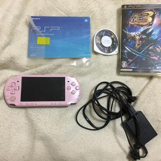 PlayStation Portable - PSP3000とモンスターハンター3のセット