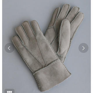 トゥモローランド(TOMORROWLAND)のMILLE REVE 手袋 グローブ(手袋)