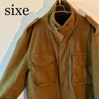 シックス(sixe)のsixe Pコート ミリタリージャケット コート メンズ L ビッグシルエット(ピーコート)