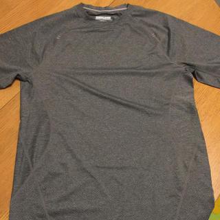 コストコ(コストコ)のカークランドシグネチャー スポーツTシャツ Sサイズ グレー(Tシャツ/カットソー(半袖/袖なし))