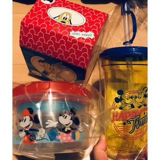 ディズニー(Disney)のディズニー  タンプラー 、タッパー大、タッパー小、セット (容器)