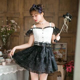 ボボンニジュウイチ(Bobon21)のbobon21 スカートドレス ミニスカート セットアップ(ミニスカート)