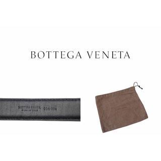Bottega Veneta - C970 BOTTEGA VENETA リアル クロコ ベルト BK ★ 90