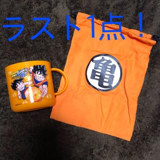 ドラゴンボール(ドラゴンボール)のコップ・巾着セット ドラゴンボール改 オレンジ(キャラクターグッズ)