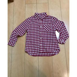 MUJI (無印良品) - 無印良品 120 チェックシャツ