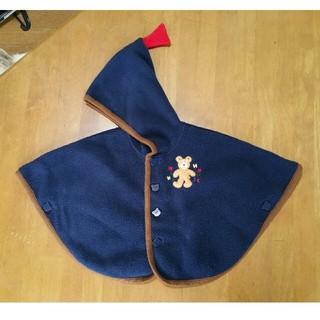 ミキハウス(mikihouse)のミキハウス ポンチョ フリーサイズ(70~90)(ジャケット/上着)
