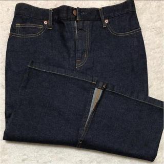 ムジルシリョウヒン(MUJI (無印良品))のデニムスカート(ひざ丈スカート)