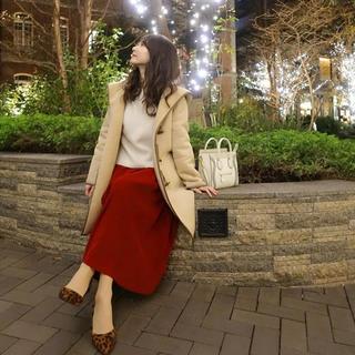 シェリーモナ(Cherie Mona)の週末お値下げスエードロングスカート(ロングスカート)