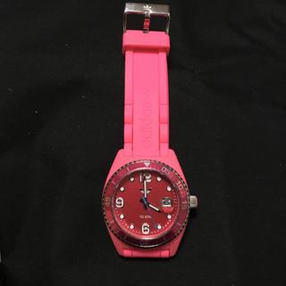 アディダス(adidas)のアディダス 腕時計 adidas ピンク(腕時計)