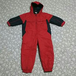ナイキ(NIKE)のナイキ ジャンプスーツ 防寒カバーオール キッズ ベビー 100㎝ 雪遊びに♪(ウエア)