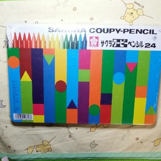 サクラクレパス(サクラクレパス)のサクラクーピーペンシル24 新品未使用(色鉛筆)