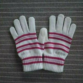 アディダス(adidas)のレディース毛糸手袋『アディダス』(手袋)