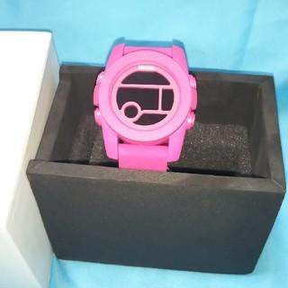 ニクソン(NIXON)のNIXON腕時計ピンク新品(腕時計(デジタル))