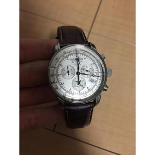 ツェッペリン(ZEPPELIN)のZEPPELINツェッペリン100周年記念クロノグラフ時計(腕時計(アナログ))
