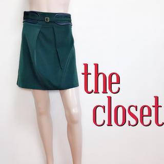 ザクローゼット(The Closet)のおしゃれ着♪ザ・クローゼット きれいめカジュアルスカート♡ダズリン マウジー(ミニスカート)