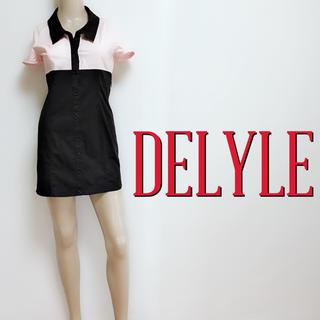 デイライル(Delyle)の新品タグ付き♪デイライル 悩殺ストレッチ シャツワンピース♡リゼクシー レディー(ミニワンピース)