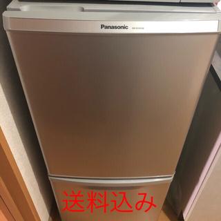 パナソニック(Panasonic)のPanasonic パナソニック 冷凍庫冷蔵庫 NR-B145W 最終大幅値下げ(冷蔵庫)