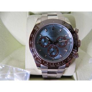 ロレックス デイトナ アイスブルー プラチナ 116506 ランダム 付属品フル(腕時計(アナログ))