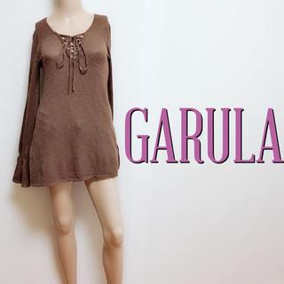 ガルラ(GARULA)のお尻隠し♪ガルラ 薄手 スピンドルニットソー♡ダイヤ ジェイダ(ニット/セーター)