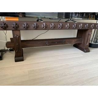 クロムハーツ(Chrome Hearts)のクロムハーツ 確実に正規品 家具 ベンチ テレビ台 レア 大き(ローテーブル)