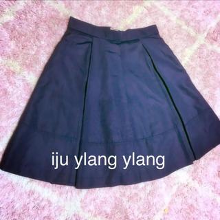 イランイラン(YLANG YLANG)のiju ylang ylang フレアスカート(ミニスカート)