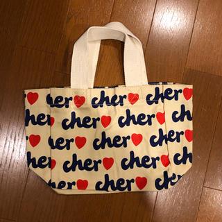 シェル(Cher)のcher ミニ布バッグ (エコバッグ)