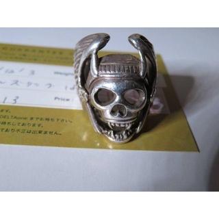 ゴローズ(goro's)のゴローズ goro's 激レア デルタワン購入品 保証書付き ヘルズリング 18(リング(指輪))