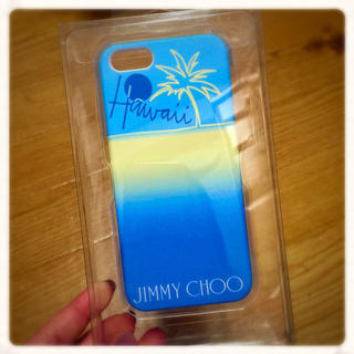 ジミーチュウ(JIMMY CHOO)のJIMMYCHOO♡iPhone5ケース(その他)