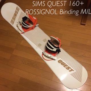 シムス(SIMS)のSIMS QUEST 160 スノーボード(ボード)