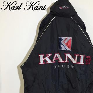 カールカナイ(Karl Kani)の[激レア]カールカナイKARL KANIナイロンジャケット デカロゴ ゆるダボ(ナイロンジャケット)