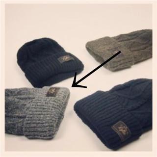 ロンハーマン(Ron Herman)のLa Maison de Lyllis ニット帽 グレー(ニット帽/ビーニー)