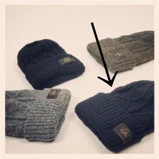 ロンハーマン(Ron Herman)のLa Maison de Lyllis ニット帽 ネイビー(ニット帽/ビーニー)