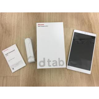 エヌティティドコモ(NTTdocomo)のdocomoタブレット dtab Compact d-01J(タブレット)