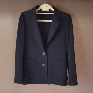 コルディア(CORDIER)のニットジャケット Sサイズ(テーラードジャケット)