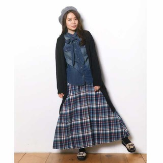 【新品タグ付き】クリフメイヤー 微起毛ロングスカート サイズM