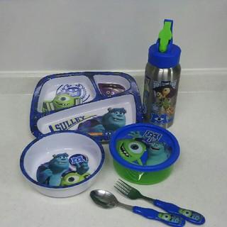 ディズニー(Disney)のモンスターズインク 食器 タッパー 水筒 セット(その他)