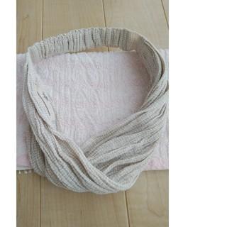 ネストローブ(nest Robe)のネストローブ nest Robe リネン 水撚り ヘアバンド ターバン(ヘアバンド)