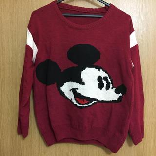 ディズニー(Disney)のディズニー★ミッキーのニット(ニット/セーター)
