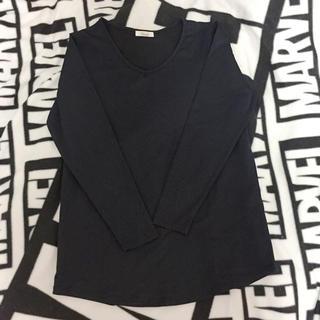 ジーユー(GU)の◆ 即購入OK ( Vネック インナーシャツ )(アンダーシャツ/防寒インナー)