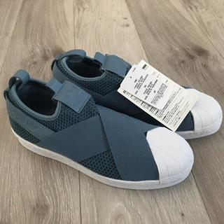 アディダス(adidas)の【addidas】SS Slip On W ストーングリーン(スニーカー)