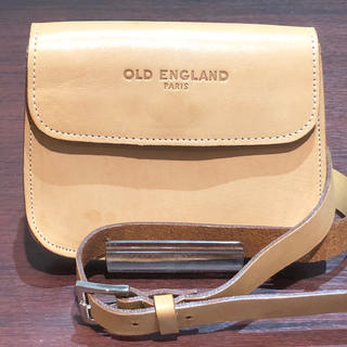 オールドイングランド(OLD ENGLAND)のOLD ENGLAND オールドイングランド レザー ウエストポーチ ブラウン(ポーチ)