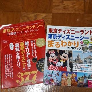 ディズニー(Disney)のディズニー本 二冊セット 裏技 ディズニーリゾート(地図/旅行ガイド)