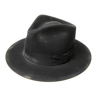 ボルサリーノ(Borsalino)のステットソン ウィペット stetson dusty whippet ブラック(ハット)