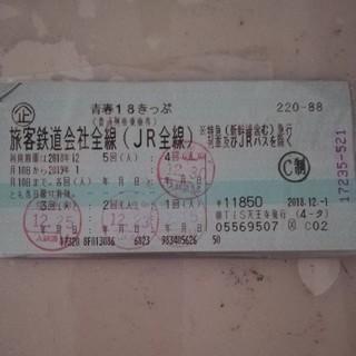青春18切符 1回分 (鉄道乗車券)