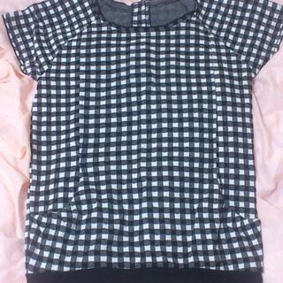 ジエンポリアム(THE EMPORIUM)の700→500 夏ギンガムチェックT(Tシャツ(半袖/袖なし))